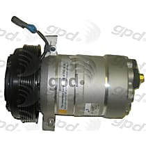 6511307 A/C Compressor Sold individually With clutch, 6-Groove Pulley