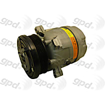 6511310 A/C Compressor Sold individually With clutch, 6-Groove Pulley