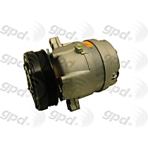 6511314 A/C Compressor Sold individually With clutch, 5-Groove Pulley