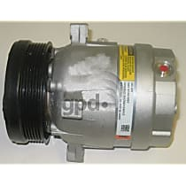 6511317 A/C Compressor Sold individually With clutch, 6-Groove Pulley