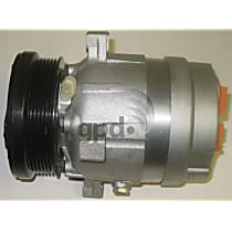 6511318 A/C Compressor Sold individually With clutch, 6-Groove Pulley