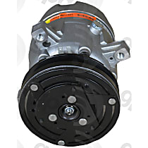 6511321 A/C Compressor Sold individually With clutch, 1-Groove Pulley