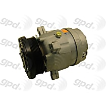 6511323 A/C Compressor Sold individually With clutch, 6-Groove Pulley