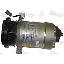 6511329 A/C Compressor Sold individually With clutch, 6-Groove Pulley