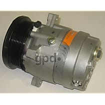 6511332 A/C Compressor Sold individually With clutch, 6-Groove Pulley