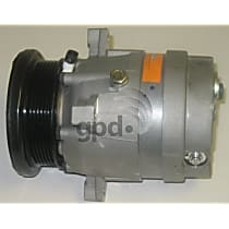 6511333 A/C Compressor Sold individually With clutch, 6-Groove Pulley