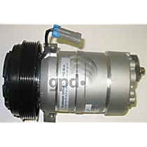 6511335 A/C Compressor Sold individually With clutch, 6-Groove Pulley