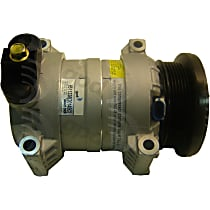 6511338 A/C Compressor Sold individually With clutch, 6-Groove Pulley