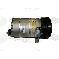 6511343 A/C Compressor Sold individually With clutch, 6-Groove Pulley