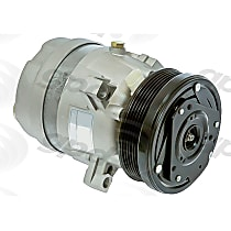 6511355 A/C Compressor Sold individually With clutch, 6-Groove Pulley
