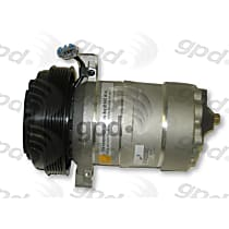 6511360 A/C Compressor Sold individually With clutch, 6-Groove Pulley