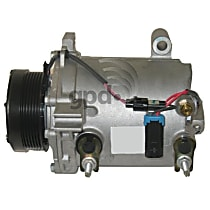 6511393 A/C Compressor Sold individually With clutch, 6-Groove Pulley