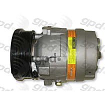 6511400 A/C Compressor Sold individually With clutch, 6-Groove Pulley