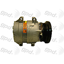 6511405 A/C Compressor Sold individually With clutch, 4-Groove Pulley