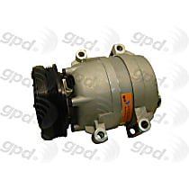 6511410 A/C Compressor Sold individually With clutch, 4-Groove Pulley