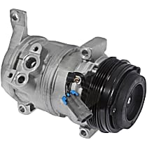 6511414 A/C Compressor Sold individually With clutch, 4-Groove Pulley