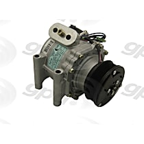 6511418 A/C Compressor Sold individually With clutch, 6-Groove Pulley