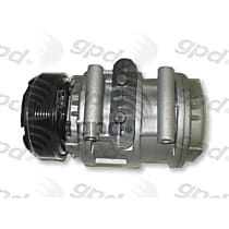 6511435 A/C Compressor Sold individually With clutch, 6-Groove Pulley