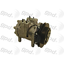 6511437 A/C Compressor Sold individually With clutch, 1-Groove Pulley