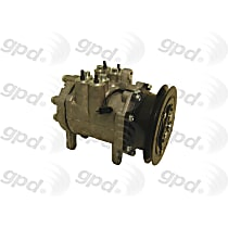 6511438 A/C Compressor Sold individually With clutch, 1-Groove Pulley