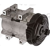 6511441 A/C Compressor Sold individually With clutch, 6-Groove Pulley