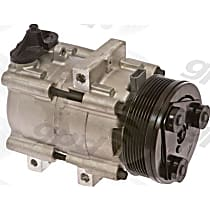 6511442 A/C Compressor Sold individually With clutch, 7-Groove Pulley