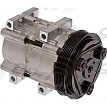 6511444 A/C Compressor Sold individually With clutch, 6-Groove Pulley