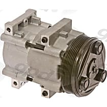 6511445 A/C Compressor Sold individually With clutch, 6-Groove Pulley