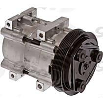 6511446 A/C Compressor Sold individually With clutch, 6-Groove Pulley