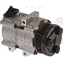 6511447 A/C Compressor Sold individually With clutch, 6-Groove Pulley