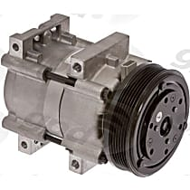 6511450 A/C Compressor Sold individually With clutch, 6-Groove Pulley
