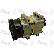 6511451 A/C Compressor Sold individually With clutch, 4-Groove Pulley