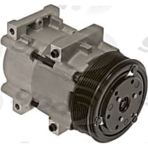 6511459 A/C Compressor Sold individually With clutch, 8-Groove Pulley