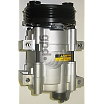 6511462 A/C Compressor Sold individually With clutch, 6-Groove Pulley
