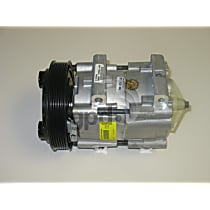 6511468 A/C Compressor Sold individually With clutch, 6-Groove Pulley