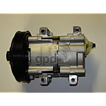 6511469 A/C Compressor Sold individually With clutch, 6-Groove Pulley
