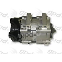 6511476 A/C Compressor Sold individually With clutch, 6-Groove Pulley