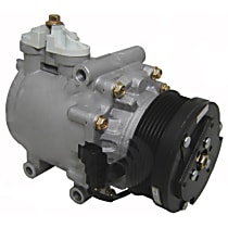 6511483 A/C Compressor Sold individually With clutch, 6-Groove Pulley