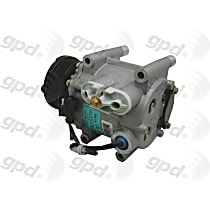 6511486 A/C Compressor Sold individually with Clutch, 6-Groove Pulley