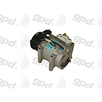 6511487 A/C Compressor Sold individually with Clutch, 6-Groove Pulley