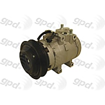 6511498 A/C Compressor Sold individually With clutch, 5-Groove Pulley