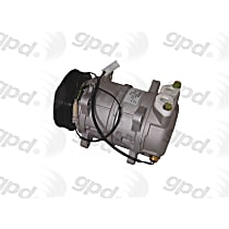 6511509 A/C Compressor Sold individually With clutch, 6-Groove Pulley