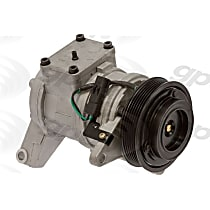 6511529 A/C Compressor Sold individually With clutch, 6-Groove Pulley