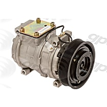 6511534 A/C Compressor Sold individually With clutch, 7-Groove Pulley