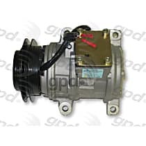 6511535 A/C Compressor Sold individually With clutch, 1-Groove Pulley