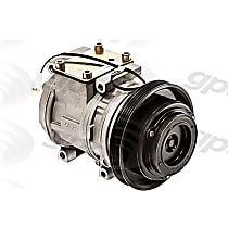 6511536 A/C Compressor Sold individually With clutch, 4-Groove Pulley