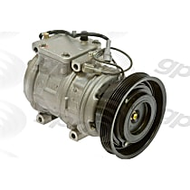 6511537 A/C Compressor Sold individually With clutch, 5-Groove Pulley