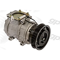 6511538 A/C Compressor Sold individually With clutch, 6-Groove Pulley