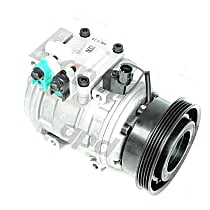 A/C Compressor With clutch, 5-Groove Pulley