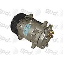 6511544 A/C Compressor Sold individually With clutch, 2-Groove Pulley